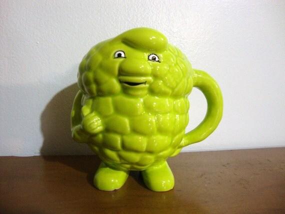 Green Ceramic Triglyceride Mug