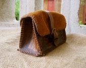 Belt Leather / Suede Purse - Pouch - Fanny Pack