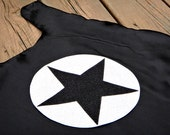 Childrens SPARKLE SUPERSTAR single sided Super Hero Cape - Affordable Birthday Gift - Superhero Party