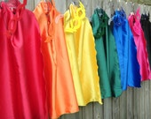 7 BLANK Childrens Super Hero Cape PLUS Mask Sets -Includes 7 Hero Capes and coordinating Masks - super low shipping
