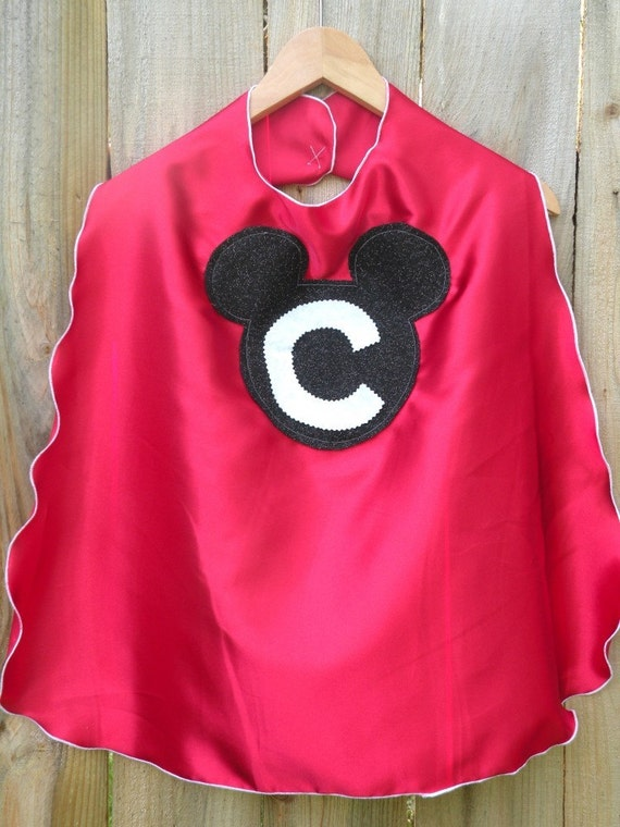 MICKEY MOUSE CUSTOMIZED CHILDRENS SUPER HERO CAPE