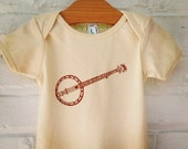 Banjo Infant Short Sleeve One Piece. Brown. Organic Cotton. 12-18 months.