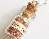 Tiny Bottle of Fairy Dust Necklace