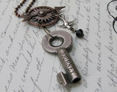 Pendant - Steampunk Compass Journey Pendant - New Lower Price