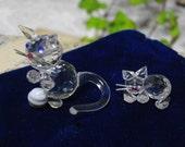 Miniature Crystal Cats