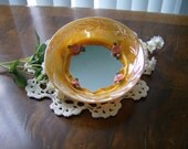 Peach MIrrored Bowl OOAK
