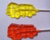 Firetruck Lollipops