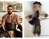 Game of Thrones - KHAL DROGO doll