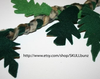 2 Sugar Glider Fleece Vines - Set of 2 - Small Animal Accessories