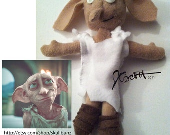 Dobby doll from Harry Potter - with shoes