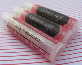 Custom Lip Balm Labels - Tube Wrap Stickers, clear or white Waterproof - Design & Print - 1 sheet (20 labels)