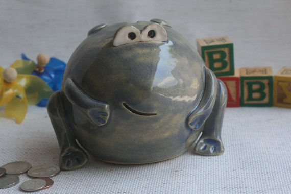 Frog Coin Bank Small Piggy Bank