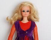 Vintage 70s Live Action PJ Barbie Doll