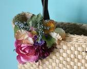 Floral Burst Fascinator: Purple Haze