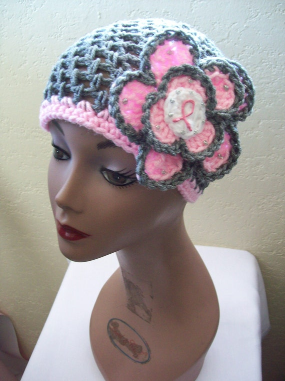 Crochet Patterns Hats For Cancer Patients : Items similar to Cafe Crochet Designs