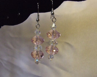 Crystal Glass Earrings   E 11-03