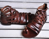 Handmade Leather Sandals (8102)