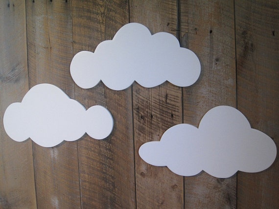 Wall Clouds - set of 3