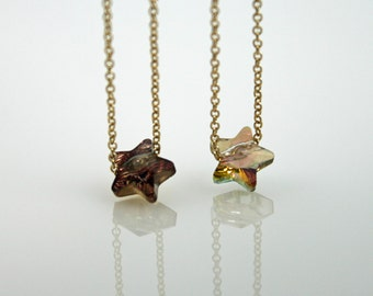 2 for THIRTYTWO - Dainty 14kt Gold Filled Star Necklace