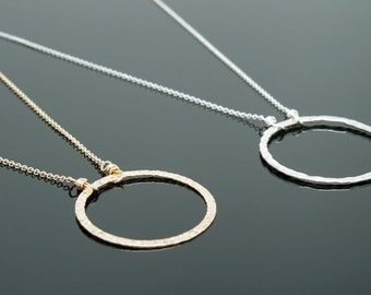 COMBO PACK - Eternity Necklace - Sterling Silver and 14kt Gold Filled