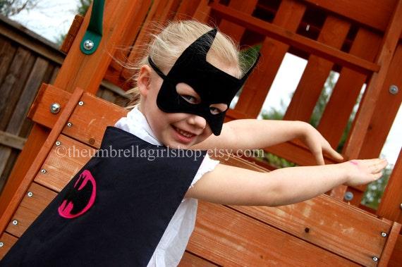 BATMAN & BATGIRL Super Hero Masks