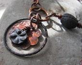 Mystic Raven Necklace - Handmade Artisan Jewelry