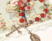 Chaplet of St. Valentine - Patron Saint of Lovers, Happy Marriages, Travellers, Bee Keepers and People with Epilepsy