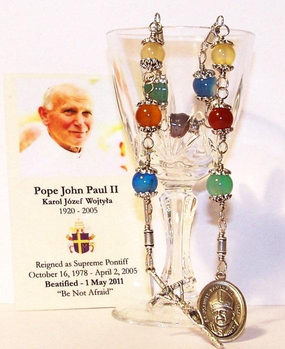 Blessed John Paul II Unbreakable Chaplet