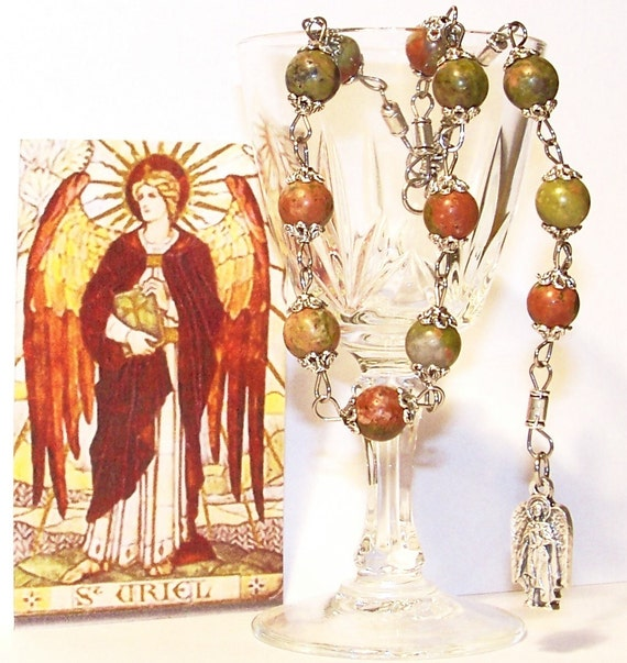 Chaplet of St. Uriel, Archangel of Purity, Peace and Illumination - Patron of Ecology