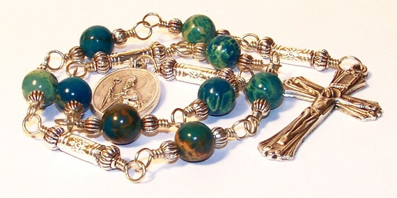 Unbreakable Chaplet of St. Augustine - Patron Saint of  Brewers, Printers, Theologins and Against Sore Eyes