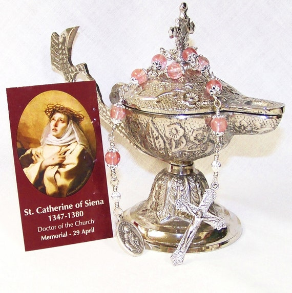 Unbreakable Chaplet to St. Catherine of Siena - Patron Saint of Nurses, Firefighters and Against Illness, Miscarriages and Temptations