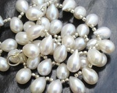 15 Pcs,Wholesale Price Item,Truly Rare Fresh Water Pearls Smooth Drops Briolettes,Finest Pearls Drops,so so Gorgeous