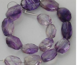 Superb-Finest MOSS AMETHYST Faceted Nuggets in size of 10-14mm Long,Great Price Rare Item