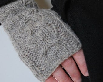 LUCKY Fingerless Gloves PDF Pattern