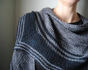NIGHTLOCK Shawl Knitting Pattern PDF