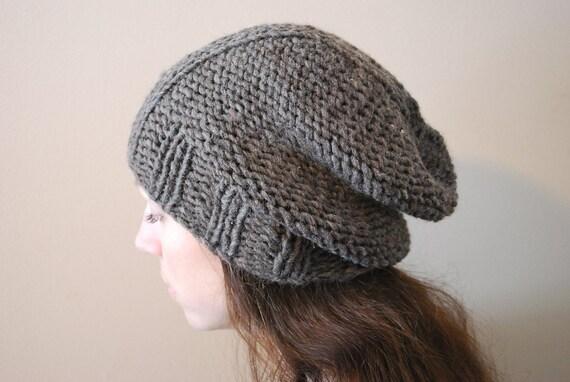 DEUX Slouchy Hat PDF Pattern
