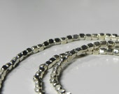 Handcrafted Sterling Bead Necklace