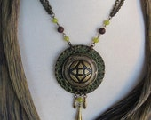 Bohemian Goddess Necklace