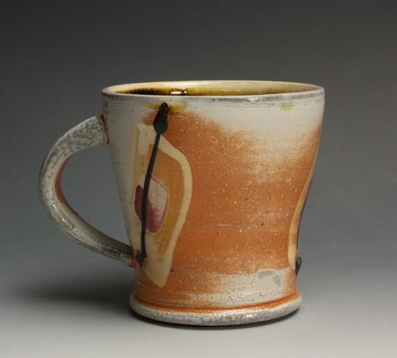 Sale - Coffee or tea cup - white stoneware - 326