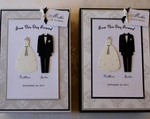Wedding Keepsake Boxes (Set of 2) - Personalized Mother of the Bride / Mother of the Groom Gifts . Wedding Party . Wedding Decor . Sign