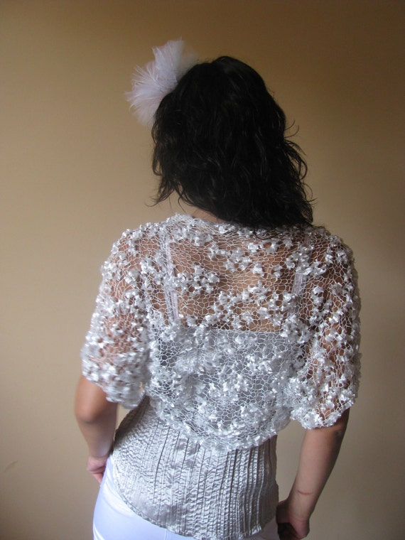 BUTTERFLY- Luxury and Elegant Bridal Shrug / Bolero
