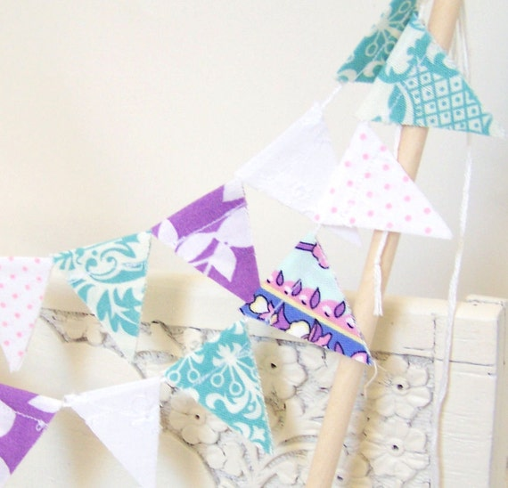 Items Similar To Cake Bunting, Banner, Flags, Mini Banner