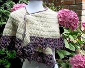 Direct Download Hydrangea Shawl PDF Crochet Pattern