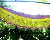 Vaire Shawlette PDF Knitting Pattern, Four Sizes