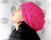 Direct Download Strawberry Hat PDF knitting Pattern