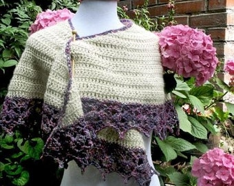 Direct Download Hydrangea Shawl PDF Crochet Pattern