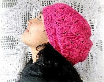 Direct Download Strawberry Hat PDF knitting Pattern