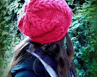 Direct Download Happy days Hat PDF knitting pattern