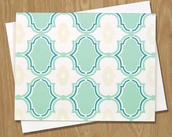 Handmade Letterpress Splendor Card