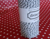 Bakers Twine- Divine Twine in Black and White